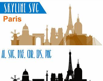 340x270 Paris Dxf Etsy