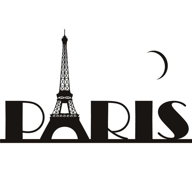 736x736 Skyline Clipart Eiffel Tower'13636