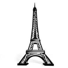 236x236 Cute Silhouettes Of Paris Landmarks
