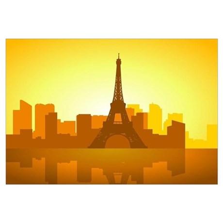 460x460 Eiffel Tower Office Supplies Gifts