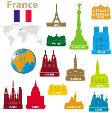 363x368 Eiffel Tower Free Vector Download (339 Free Vector) For Commercial