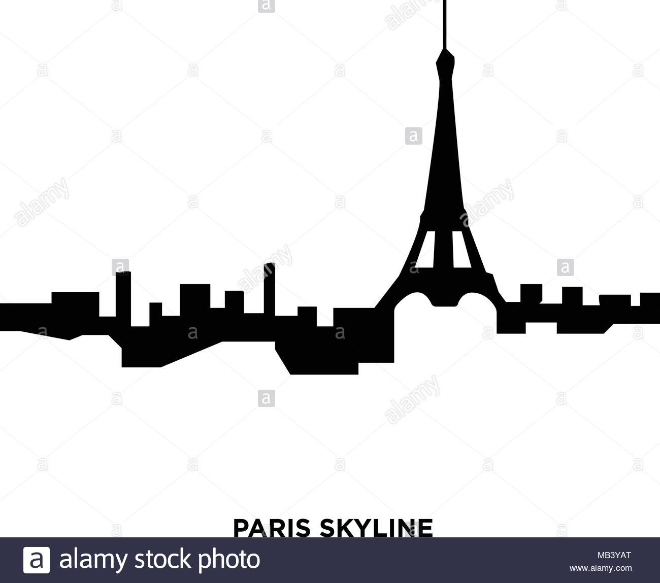 1300x1149 Paris Skyline Black And White Stock Photos Amp Paris Skyline Black