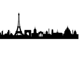 340x270 Paris Skyline Etsy