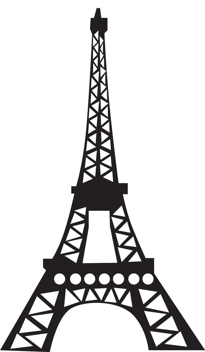 696x1194 Background Clipart Eiffel Tower