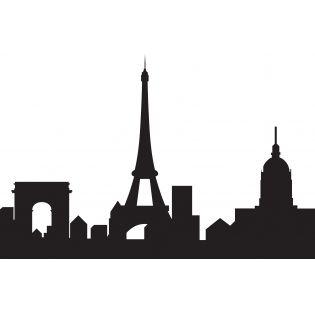 315x315 Image Of Paris Skyline Eiffel Tower Amp Arc De Triomphe Nursing
