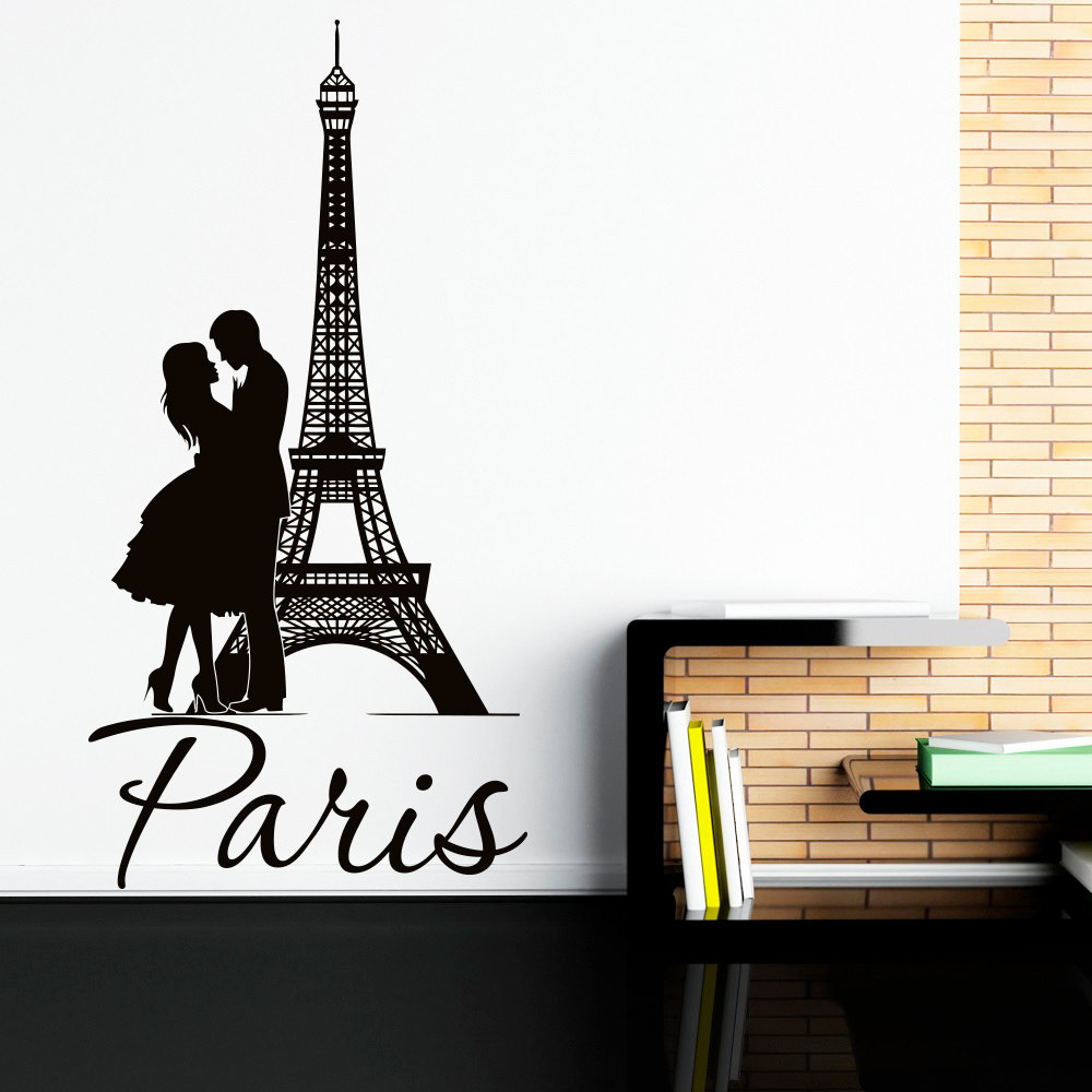 1000x1000 Eiffel Tower Wall Decal Paris Wall Decals Vinyl Stickers Paris