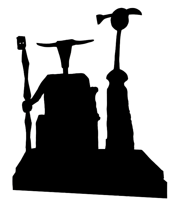 589x694 Index Of Collectionartistspeter Coffin Sculpture Silhouette