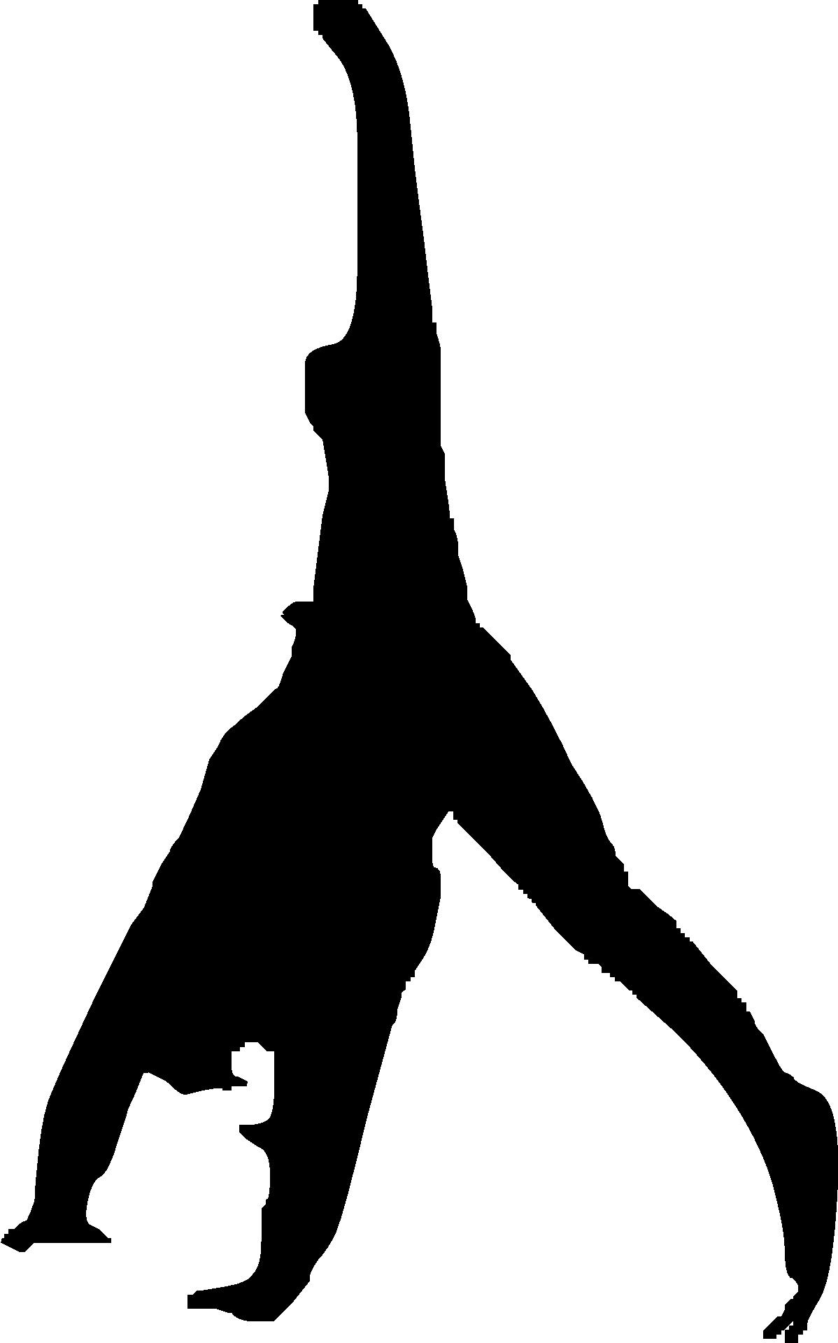 1198x1920 Parkour Gymnastics Flip Clip Art