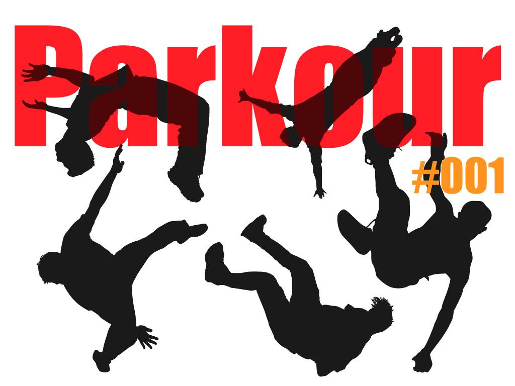 1024x768 Parkour Silhouette 1 Zafreelo
