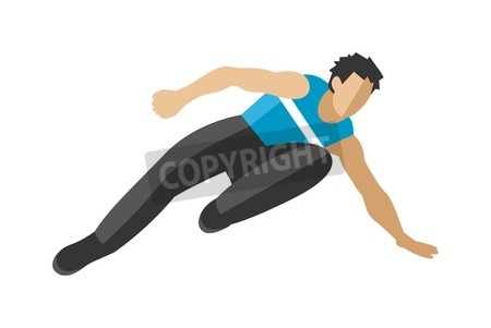 450x301 Parkour Trick People Extreme Jumping Sport Cartoon Vector