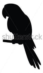172x292 Parrot a pole silhouette vector 768226  +by+alexcoolok