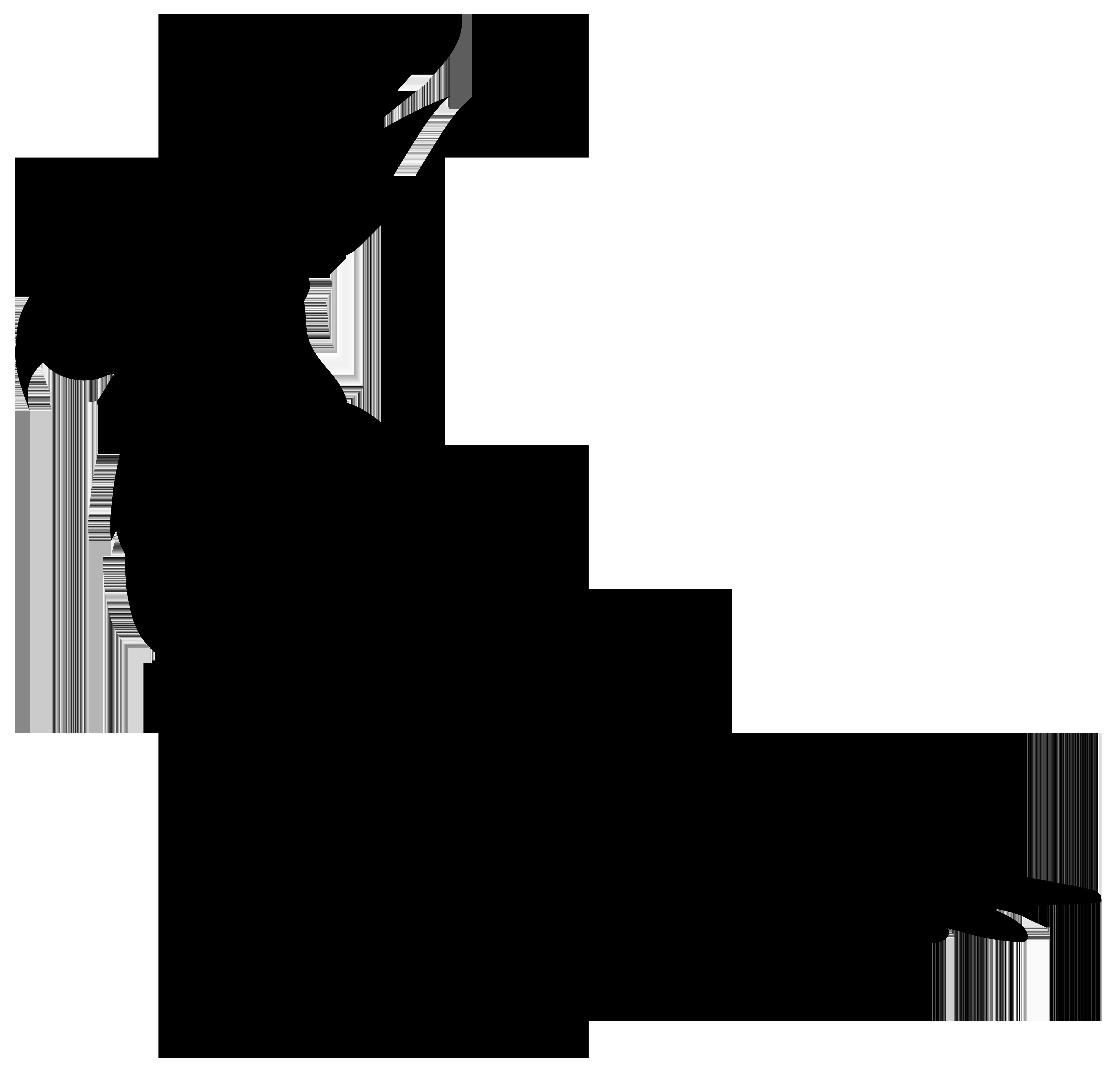 8000x7642 Parrot Silhouette Png Transparent Clip Art Imageu200b Gallery
