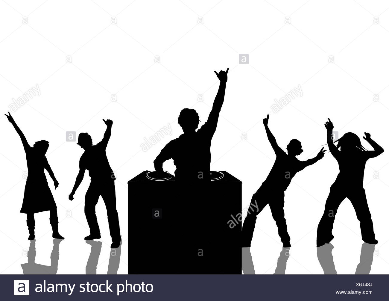 1300x1008 Dj Dance Party Background Black And White Stock Photos Amp Images