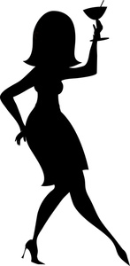 147x300 Free Party Girl Clipart Image 0515 1012 1718 3857 People Clipart