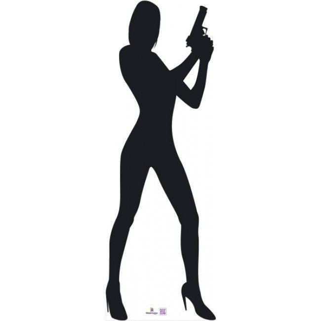 650x650 James Bond Silhouette