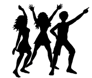 190x161 Party People Silhouette