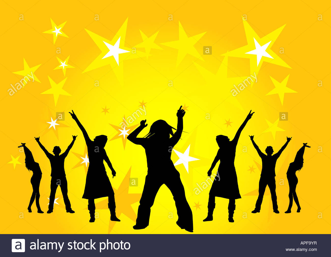 1300x1009 Happy People Dancing