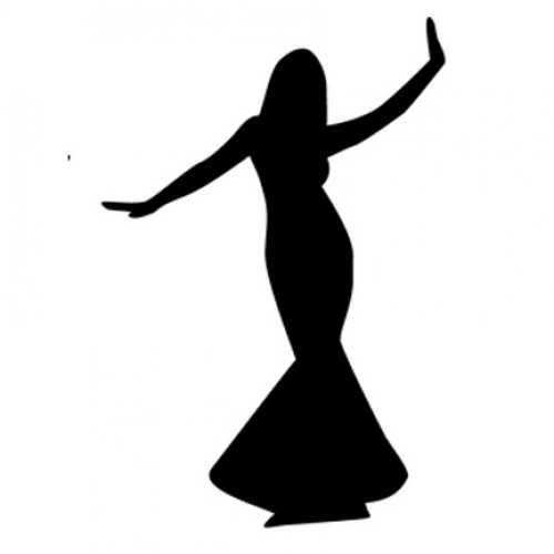 500x500 Bachelorette Party Silhouette Clipart