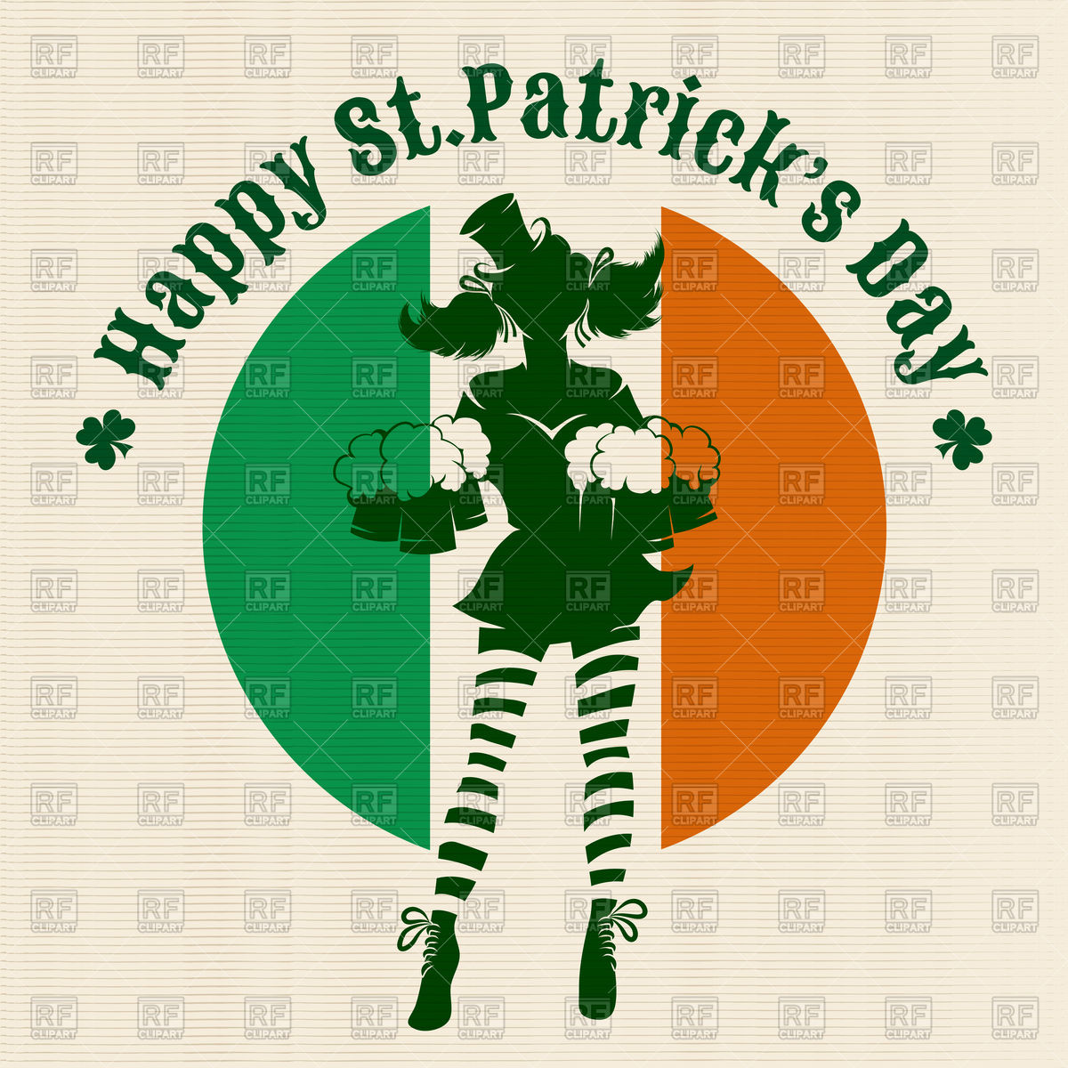 1200x1200 Silhouette Of Girl With Beer Mugs In Against Irish Colors
