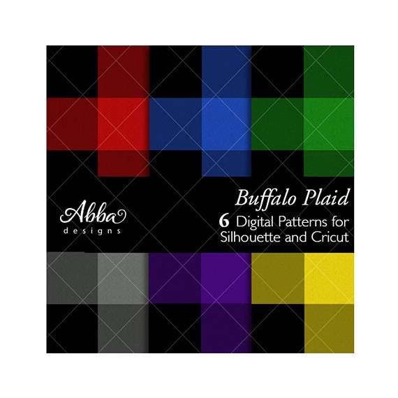 570x570 Plaid Pattern Silhouette Cricut Plaid Buffalo Plaid