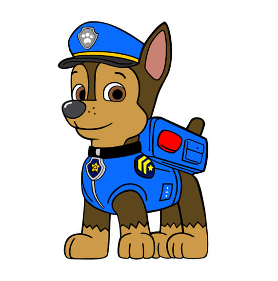 paw patrol chase silhouette at getdrawings com free for personal