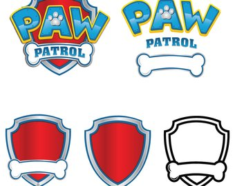 Paw Patrol Marshall Silhouette At Getdrawings Com Free For