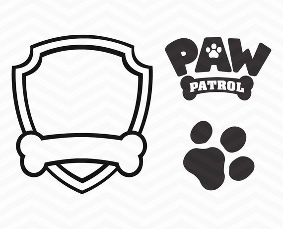 paw patrol silhouette at getdrawings com free for vector dog paw print clip art free free dog paw print clip art images