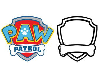 Paw Patrol Silhouette At Getdrawings Com Free For Personal
