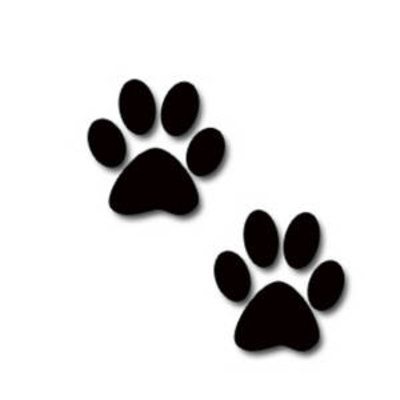 paw print silhouette at getdrawings com free for personal use paw rh getdrawings com red panther paw print clip art
