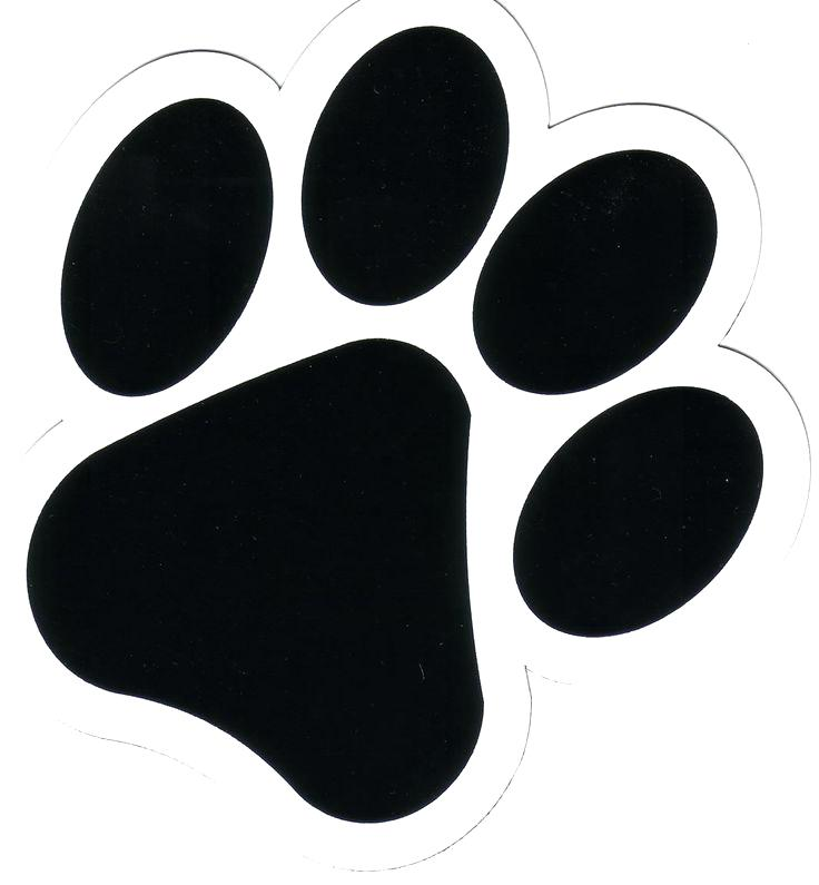 paw silhouette at getdrawings com free for personal use paw rh getdrawings com dog paw print clip art free dog and cat paw prints clip art