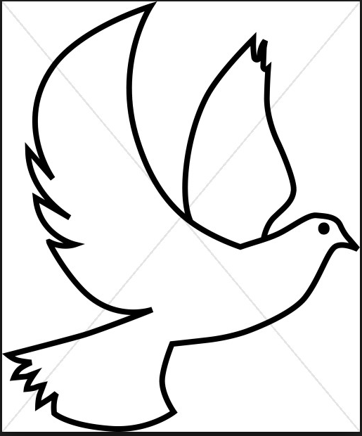 515x620 Free Download Holy Spirit Dove Clip Art