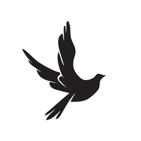 458x458 Peace Dove Spirit Symbol Christian Wall Vinyl Decal