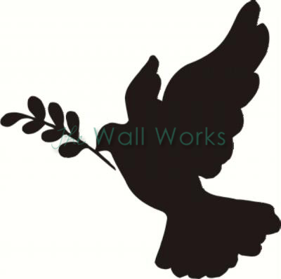 400x398 Peace Dove (1) Wall Sticker, Vinyl Decal The Wall Works