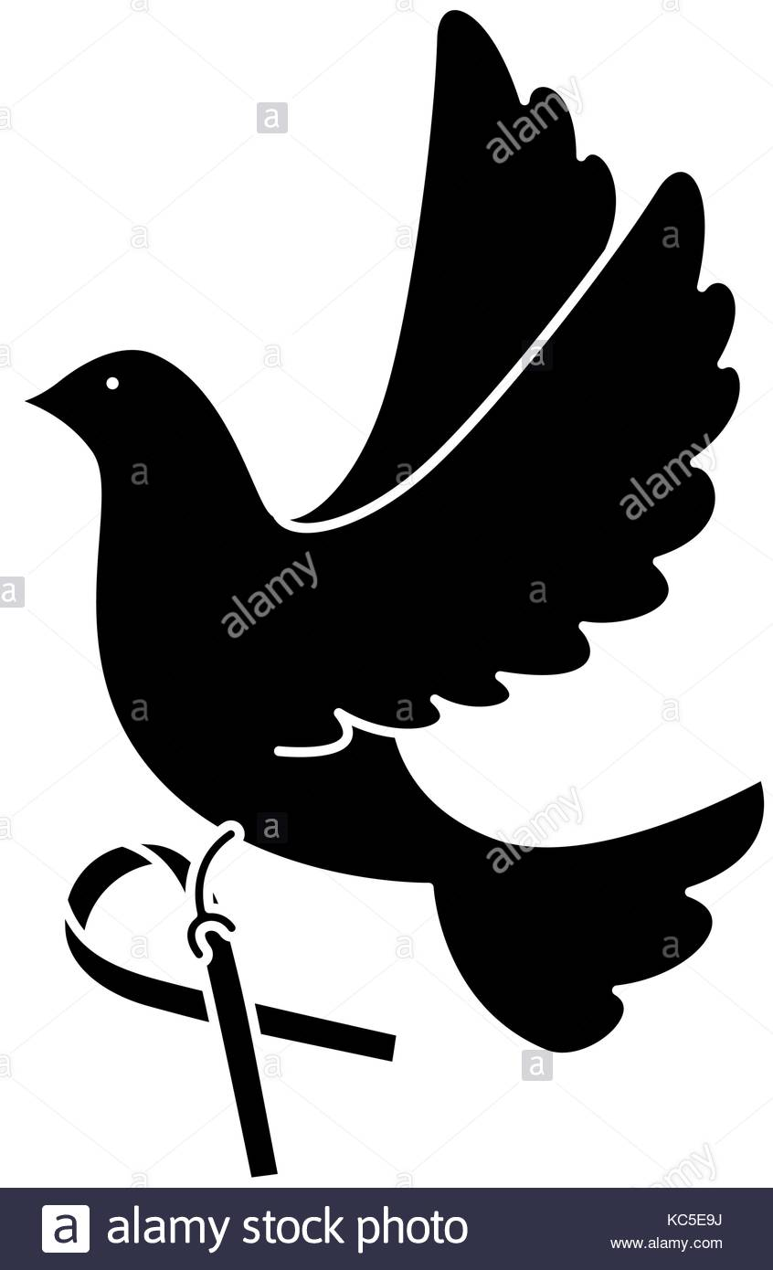 846x1390 Dove Of Peace Black And White Stock Photos Amp Images