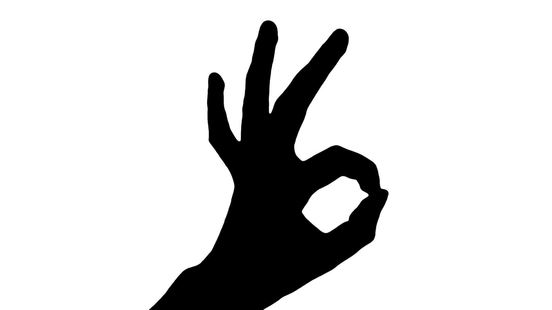 1920x1080 Ok Hand Sign Clipart