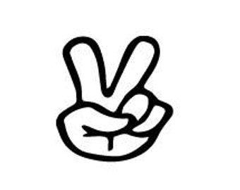 340x270 Peace Sign Svg Etsy