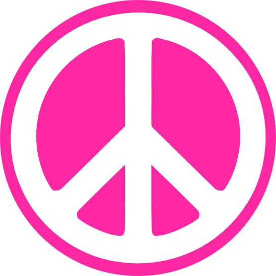 555x555 Hippy Groovy Peace Sign Svg Cricut And Silhouette Stuff