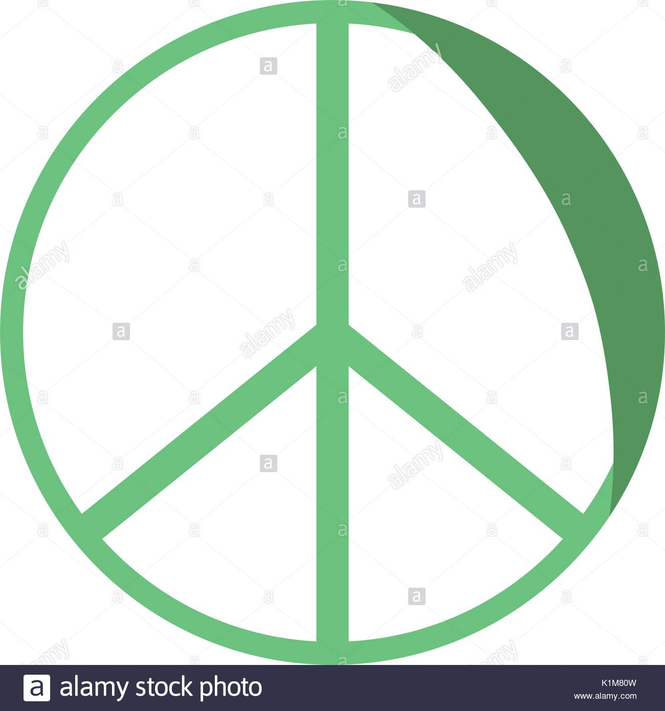 1300x1390 Silhouette Hippie Peace And Love Symbol Design Stock Vector Art