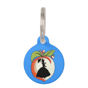 307x307 Peaches Pet Tags For Dogs Amp Cats Zazzle