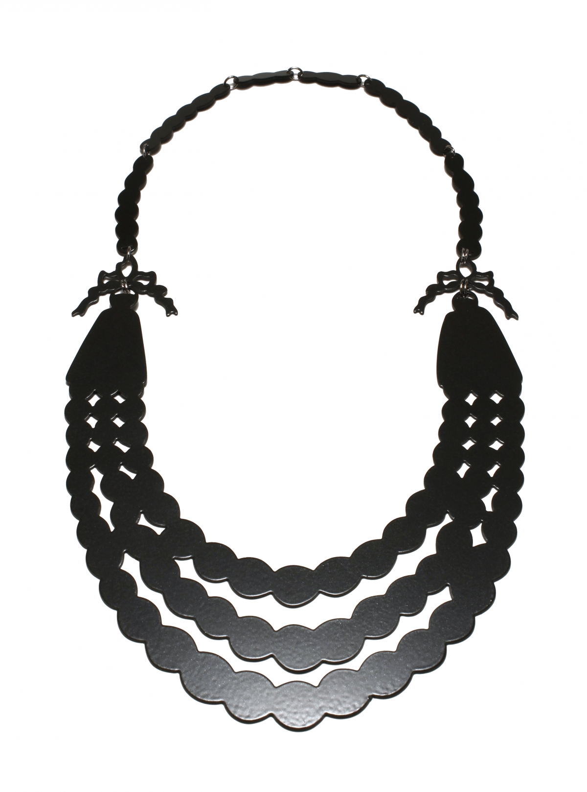 Pearl Necklace Silhouette