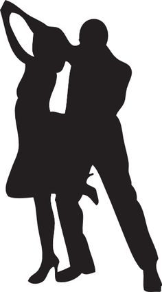236x424 Bride And Groom Formal Dance Silhouette Cards