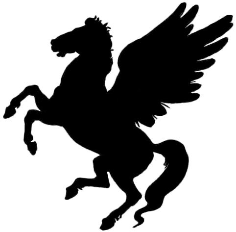482x473 Pegasus Silhouettes