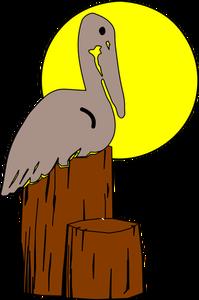 Pelican Silhouette Clip Art