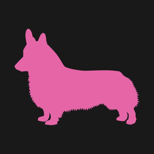 630x630 Cardigan Welsh Corgi Pink Silhouette