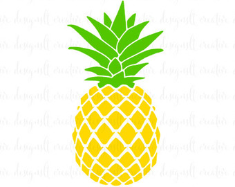 340x270 Pineapple Clipart Silhouette Pencil And In Color