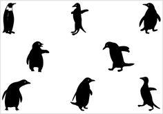 236x165 Penguin Outline Clip Art