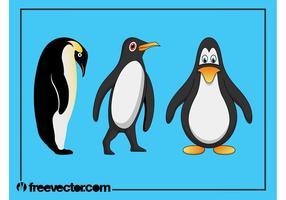 286x200 Penguin Free Vector Art