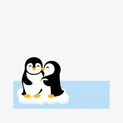425x425 Cartoon Penguin, Hand Drawn Penguin, Antarctic Penguins, Ice Png