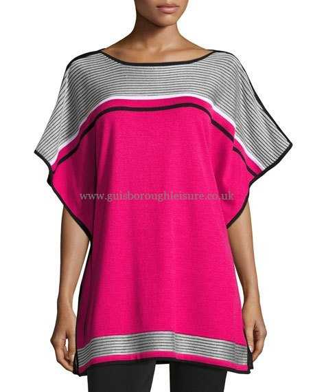456x570 Ming Wang Tops Amp T Shirts Online Half Sleeve Tunic Ebony Peony