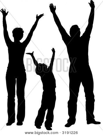 357x470 silhouette hands reaching Hands Reaching Up Silhouette Family of